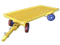 Topper Industrial quad steer industrial cart