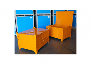 Custom Corrugated Containers with Security Lid Ref: CM31