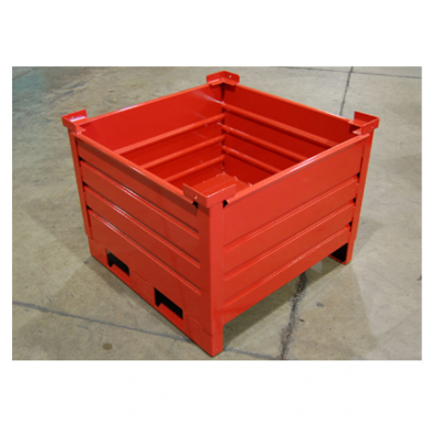 Custom Granular Bin with Racking Skids Ref: CM32