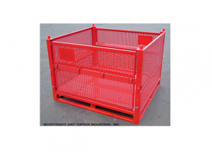 Custom Perforated Collapsible Container Ref: CM21