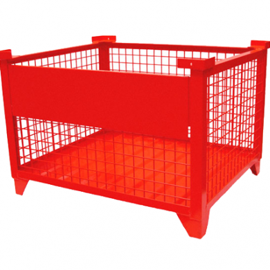 Standard Wire Mesh Container with Drop Gate Option Ref: DS05