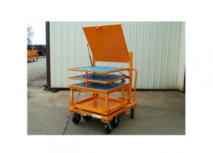 33x31 Rotation Cart with Flip Up Shelf Top Hat Rack Ref: CT122