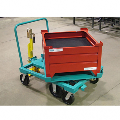 6 Wheel 33x31 Rotation Cart Ref: CT110