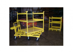 Adjustable Shelf Rack and Rotation Cart Combo Ref: CT45