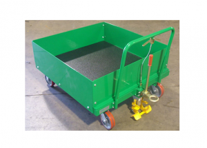 Boxed In Static Cart with Urethane Bedliner (48Wx48L) Ref: CT39