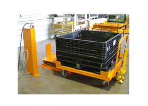 Bulk Cart Going onto Medium Tilter Ref: LT13