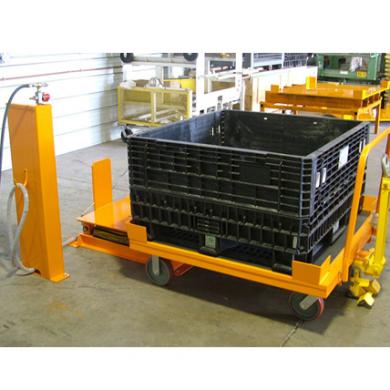Bulk Cart Going onto Medium Tilter Ref: LT13