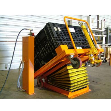 Bulk Cart Going onto Medium Tilter Ref: LT13A
