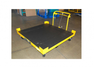Bulk Static Cart with Truck Line Top and Coupler Release Handle Ref: CT138