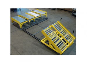 Gravity Roller Conveyor with Tilt Table Ref: CV14