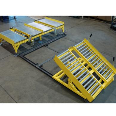 Gravity Roller Conveyor with Tilt Table Ref: CV14