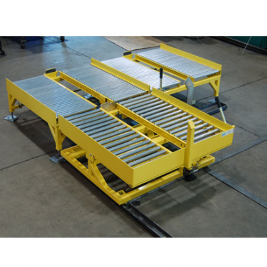 Gravity Roller Conveyor with Tilt Table Ref: CV14B