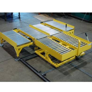 Gravity Roller Conveyor with Tilt Table Ref: CV14C