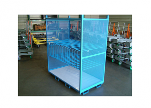 Horizontal Panel Rack with Plastic Slide Deck Ref: CM06