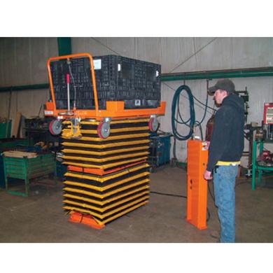 Pneumatic Cart Double Lift Ref: LT10