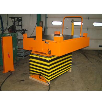 Pneumatic Cart Lower and Tilt at floor Level Ref: LT08