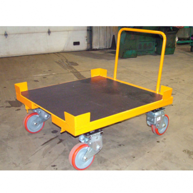 Static Cart and Shock Absorbing Casters with Urethane Bedliner (48Wx48L) Ref: CT44