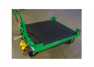 Static Cart (48Wx48L) with-Sprayed Urethane Bedliner Ref: CT38