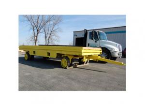 Super Heavy Duty 20 Ton Quad Steer Cart Ref: CT131