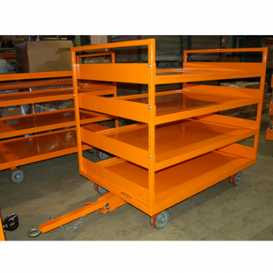 48x72 Quad Steer w/shelves Ref: CT183
