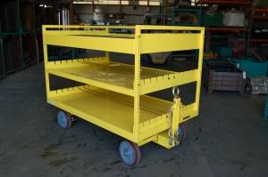 48x69 Quad Steer Cart Ref: CT186