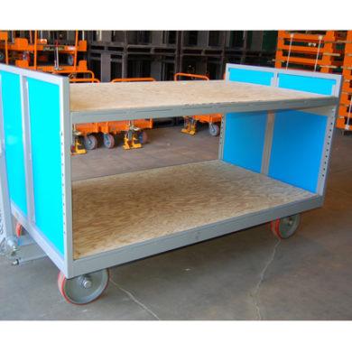 Quad Steer w/Wood Shelves Ref: CT197