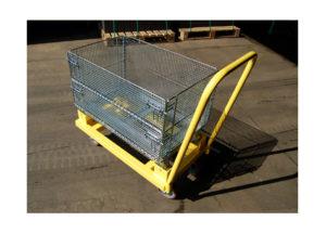 4 Wheel Basket Cart Ref CT 205