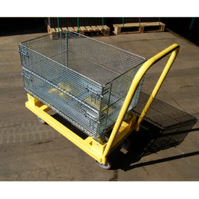 4 Wheel Basket Cart Ref CT 205