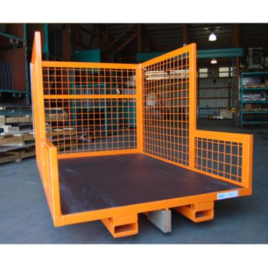 Static Cart w Basket Sides & Fork Tubes Ref CT213