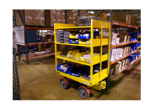 Quad Steer Shelf Cart Ref: CT273