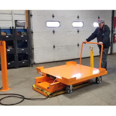 Cart Lift & 4 whl Static w RS Casters Ref LT26