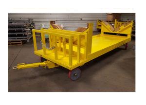 Large Custom Quad Steer Cart Ref CT284