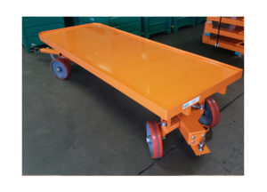 Quad Steer Cart w Ball Hitch Ref: CT301