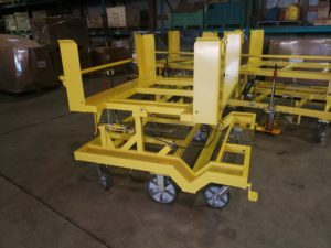 6 Whl 45 Degree Tilt Cart Ref CT298