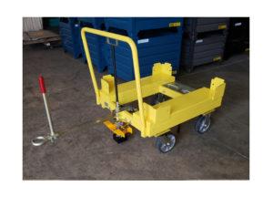 Static 4 Whl Static Cart w Corner Guides Ref CT299