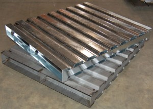 Corrugated Steel Pallets Ref: CM28