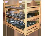 rack topper industrial
