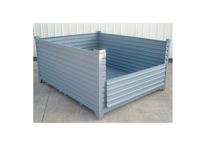 Custom Corrugated Container with Drop Gate Ref: CM12