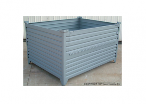 Custom Corrugated Container with Drop Gate Ref: CM12A