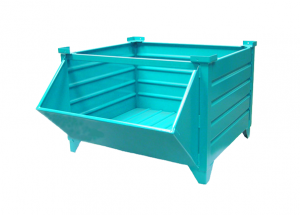 Standard Corrugated with Fixed Hopper Front Option Ref: SD03