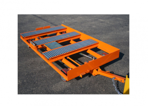 Cross Transfer Conveyor Quad Steer Cart Ref: CT18