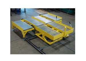 Gravity Roller Conveyor with Tilt Table Ref: CV14C