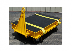 Heavy Duty Static Cart with Urethane Bedliner and Tie Down Straps Ref: CT126