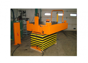 Pneumatic Cart Lower and Tilt at floor Level Ref: LT08