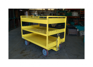 48x69 Quad Steer Cart Ref: CT186