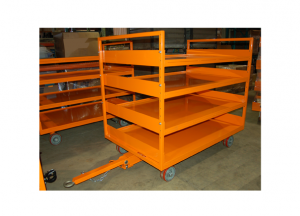 48x72 Quad Steer w/shelves Ref: CT183