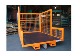Static Cart w Basket Sides & Fork Tubes Ref CT213