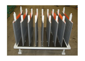 Rack Stand White w Columns Ref CM77