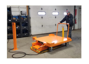 Cart Lift & 4 whl Static w RS Casters Ref LT26