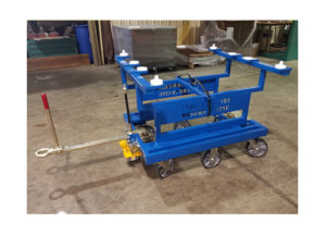 6 whl Custom Static Cart Ref CT283